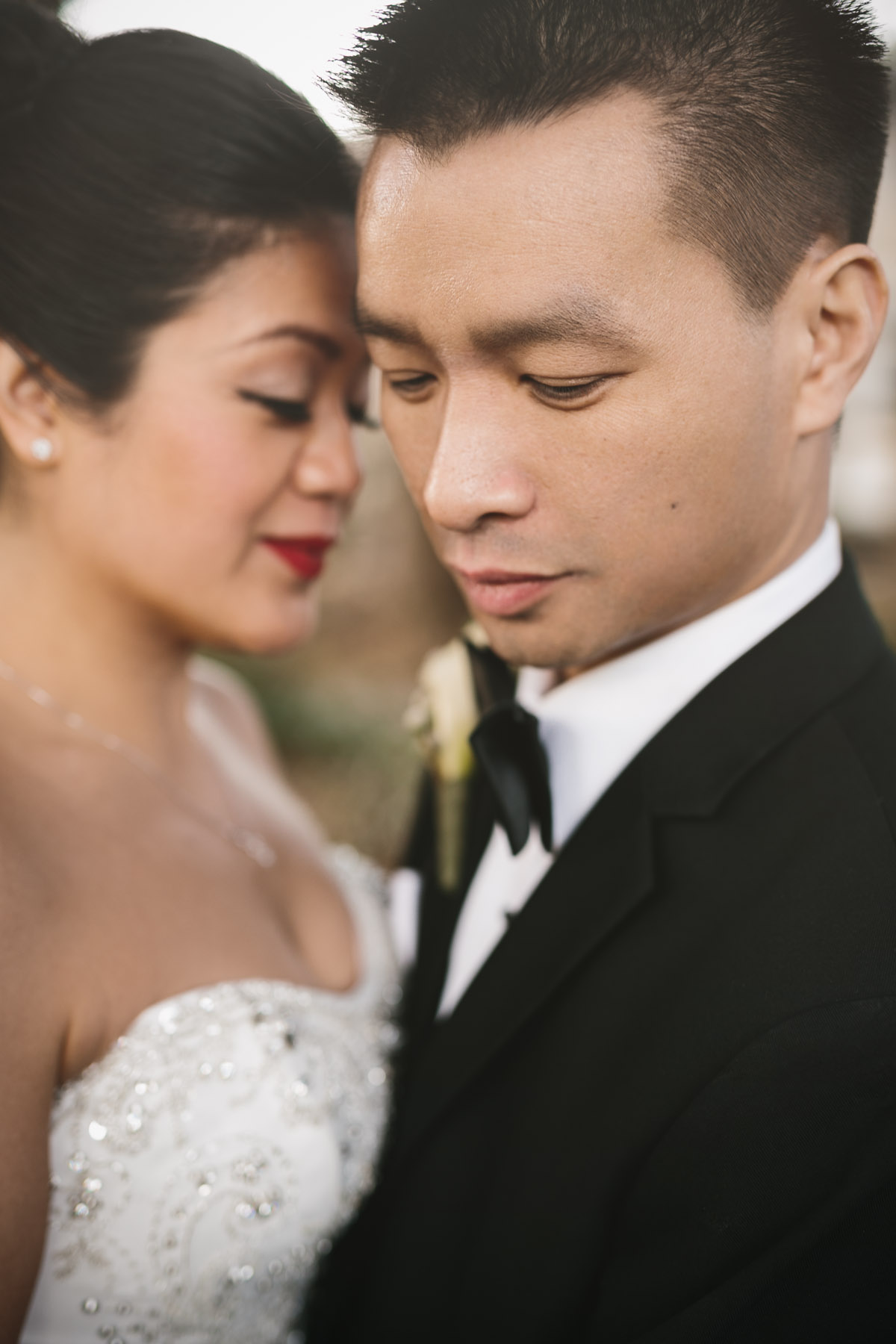 bride and groom portrait vancouver wedding photography