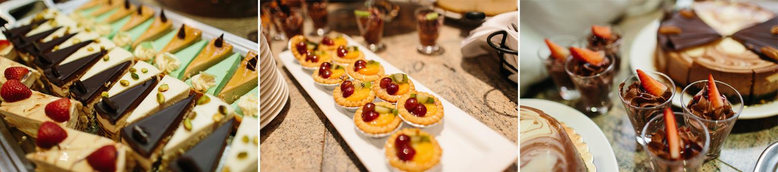 wedding reception desserts coquitlam westwood plateau
