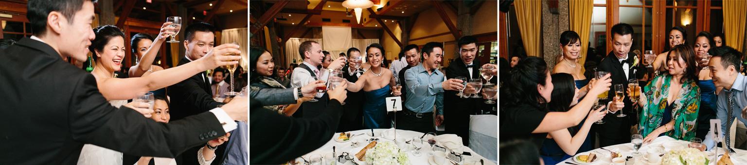 asian wedding table toasting coquitlam westwood plateau golf club photography