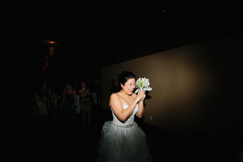 flower toss bridal wedding photography