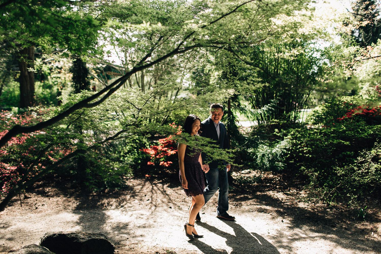 vandusen botanical garden vancouver engagement photography