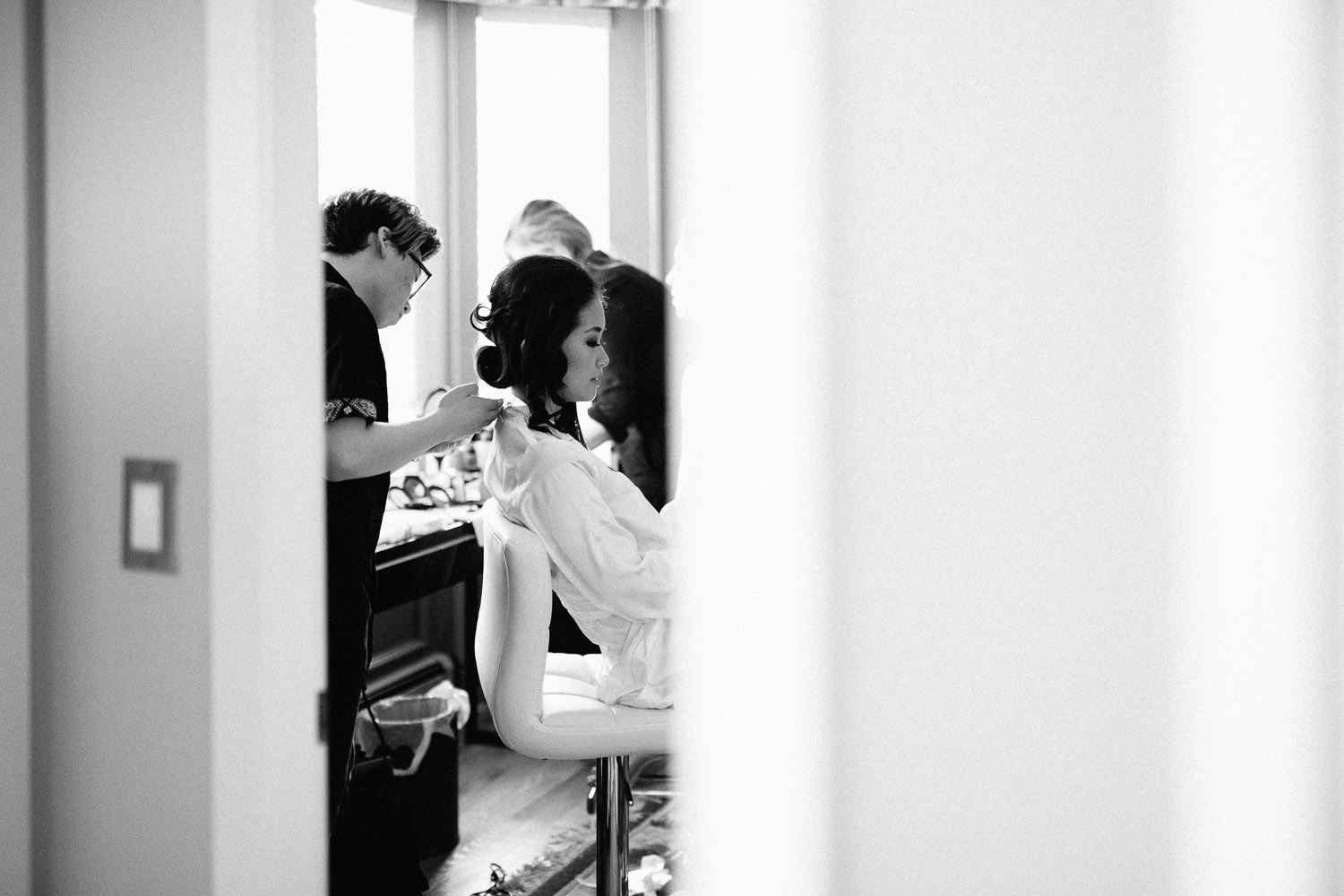 vancouver wedding photography bride preview
