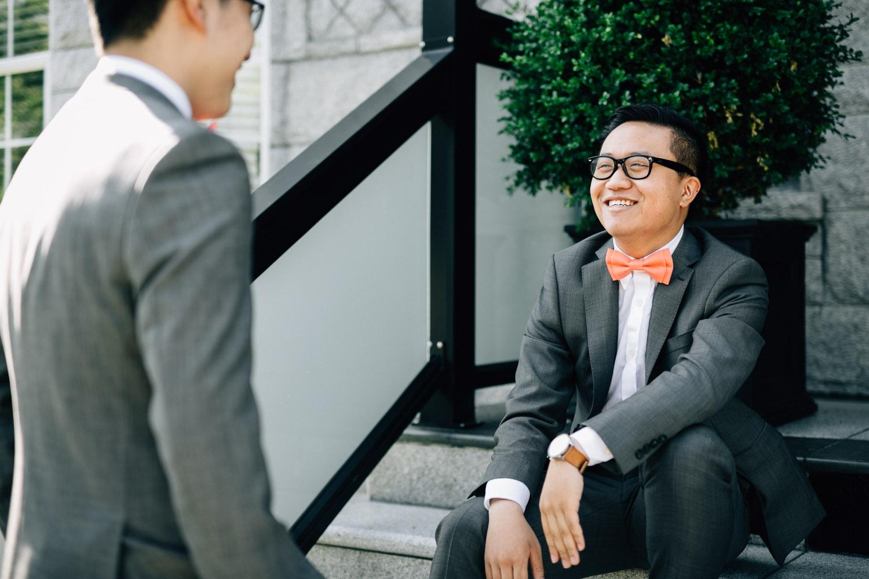 groomsman candid vancouver wedding photography