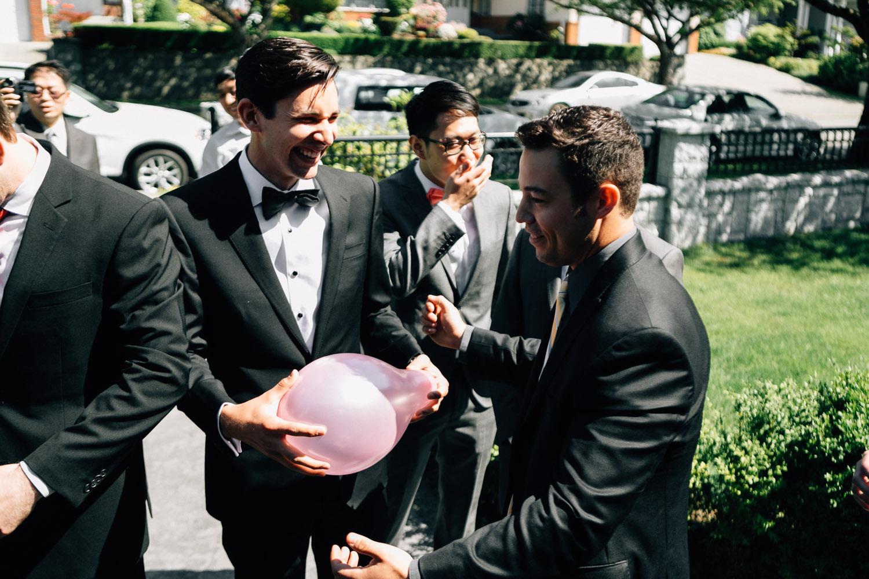 vancouver wedding door games photography