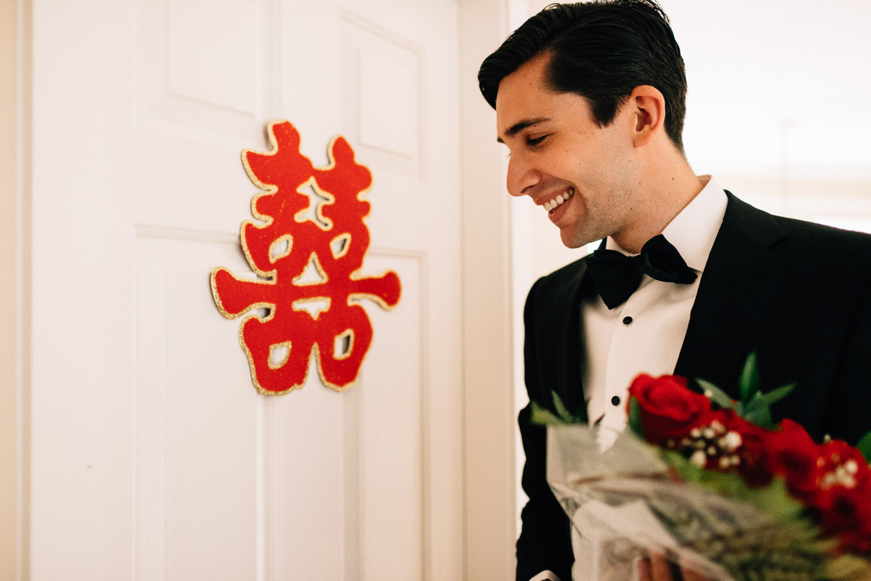 groom getting bride vancouver wedding photography