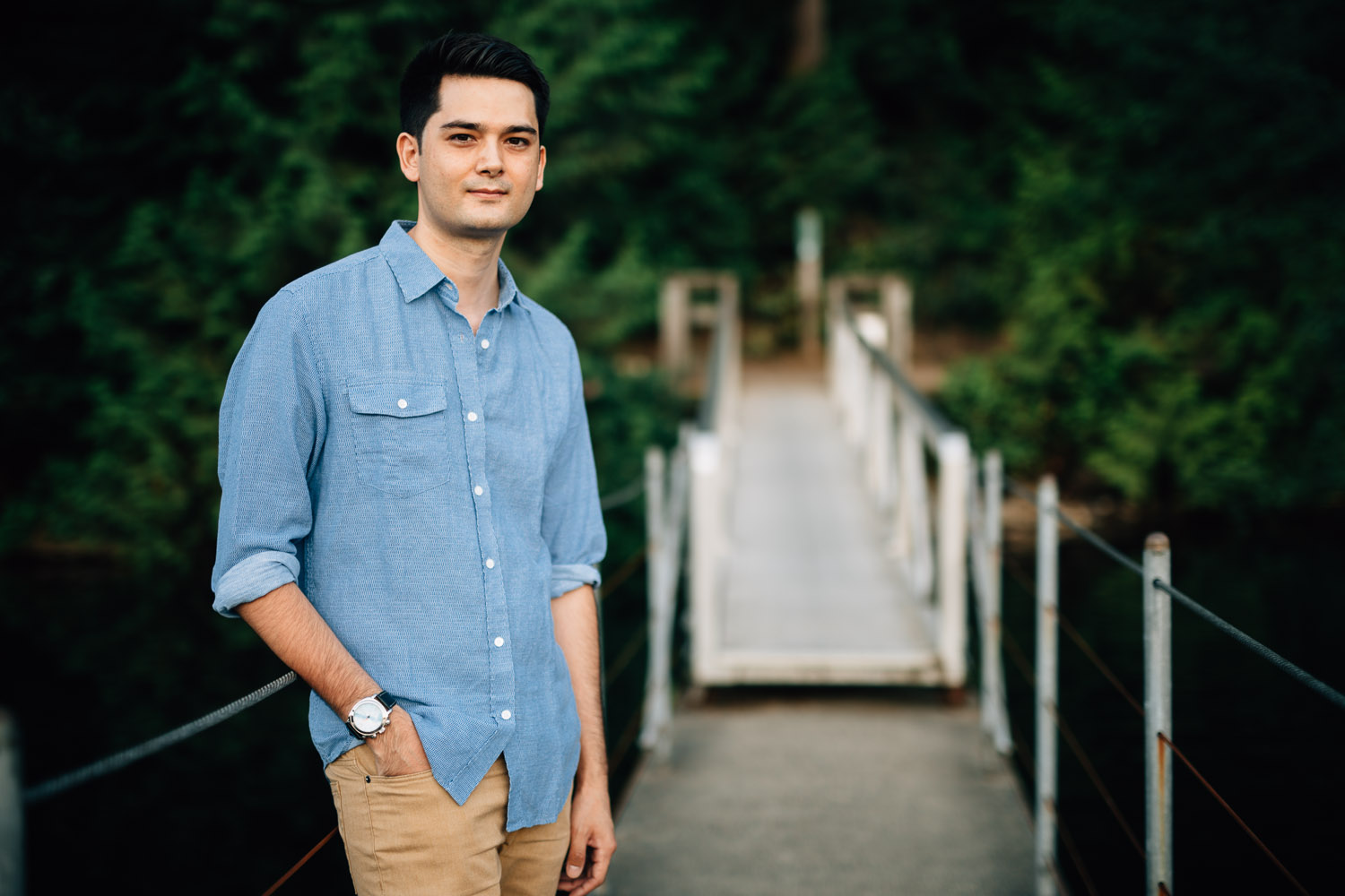 jack cusack portrait photography at sasamat lake in belcarra port moody in the summer