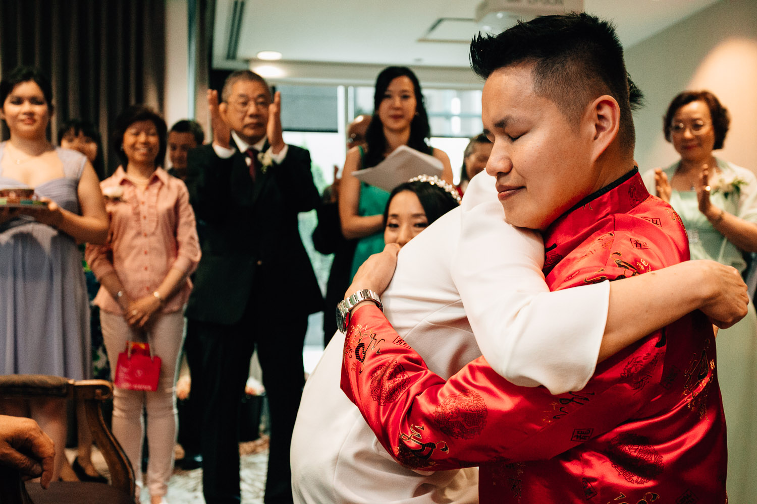 chinese tea ceremony westin grand hotel vancouver wedding photographer