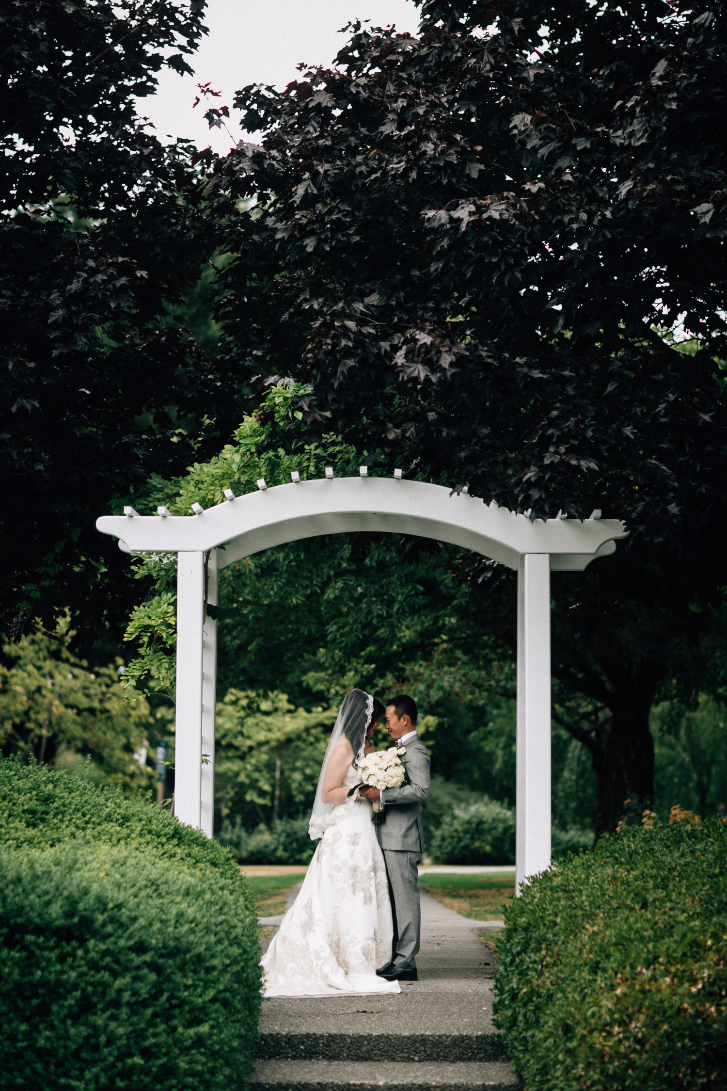richmond wedding photography at minoru park