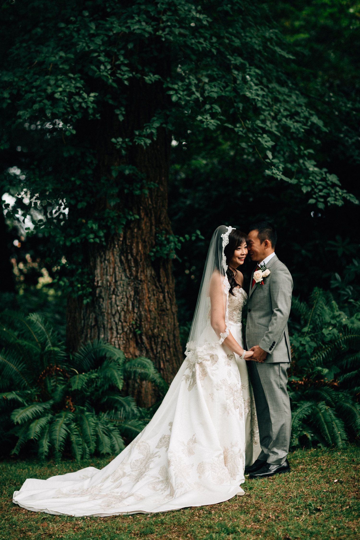 richmond wedding photography bride and groom vsco