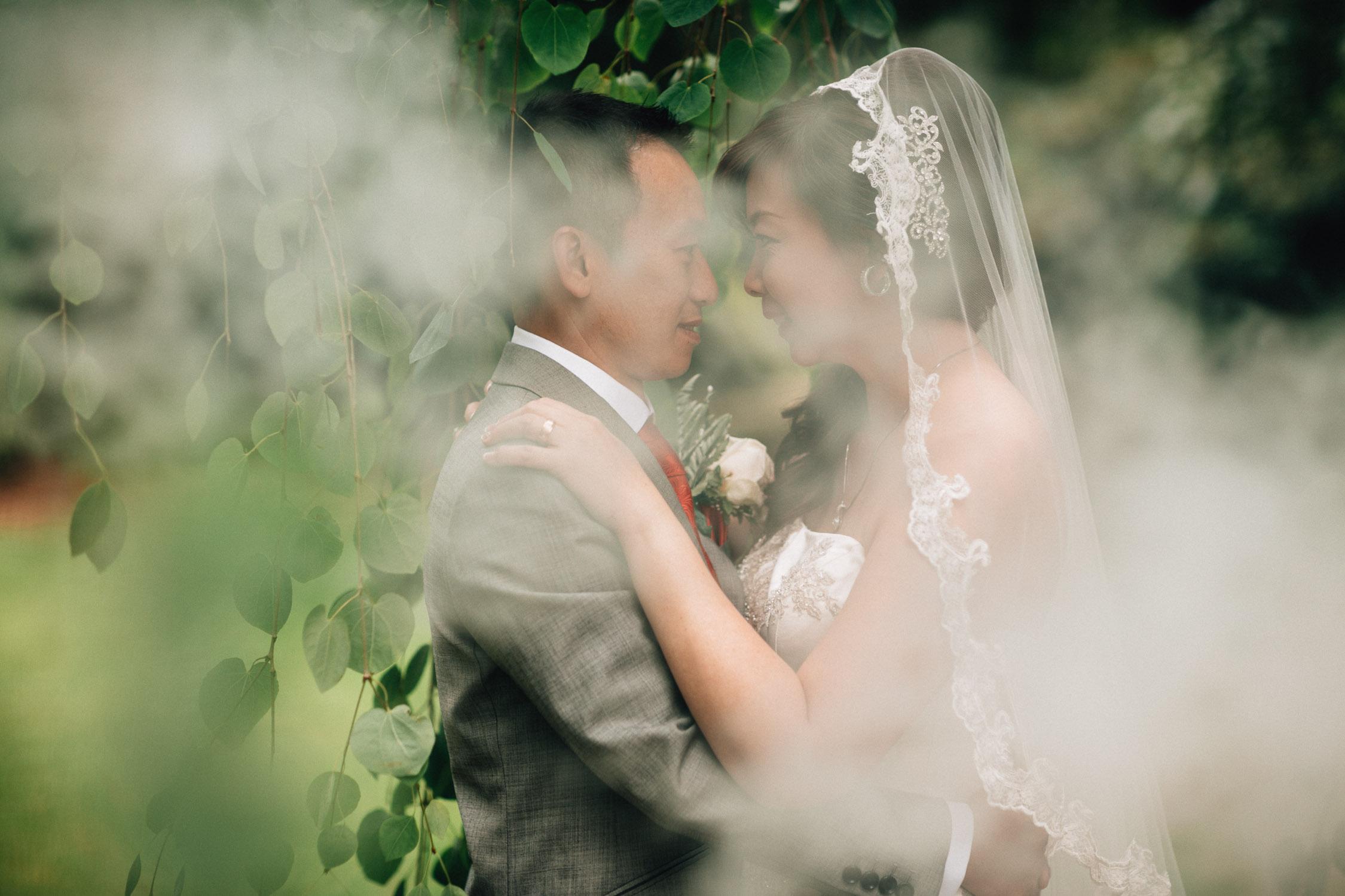 richmond wedding photographer at minoru park