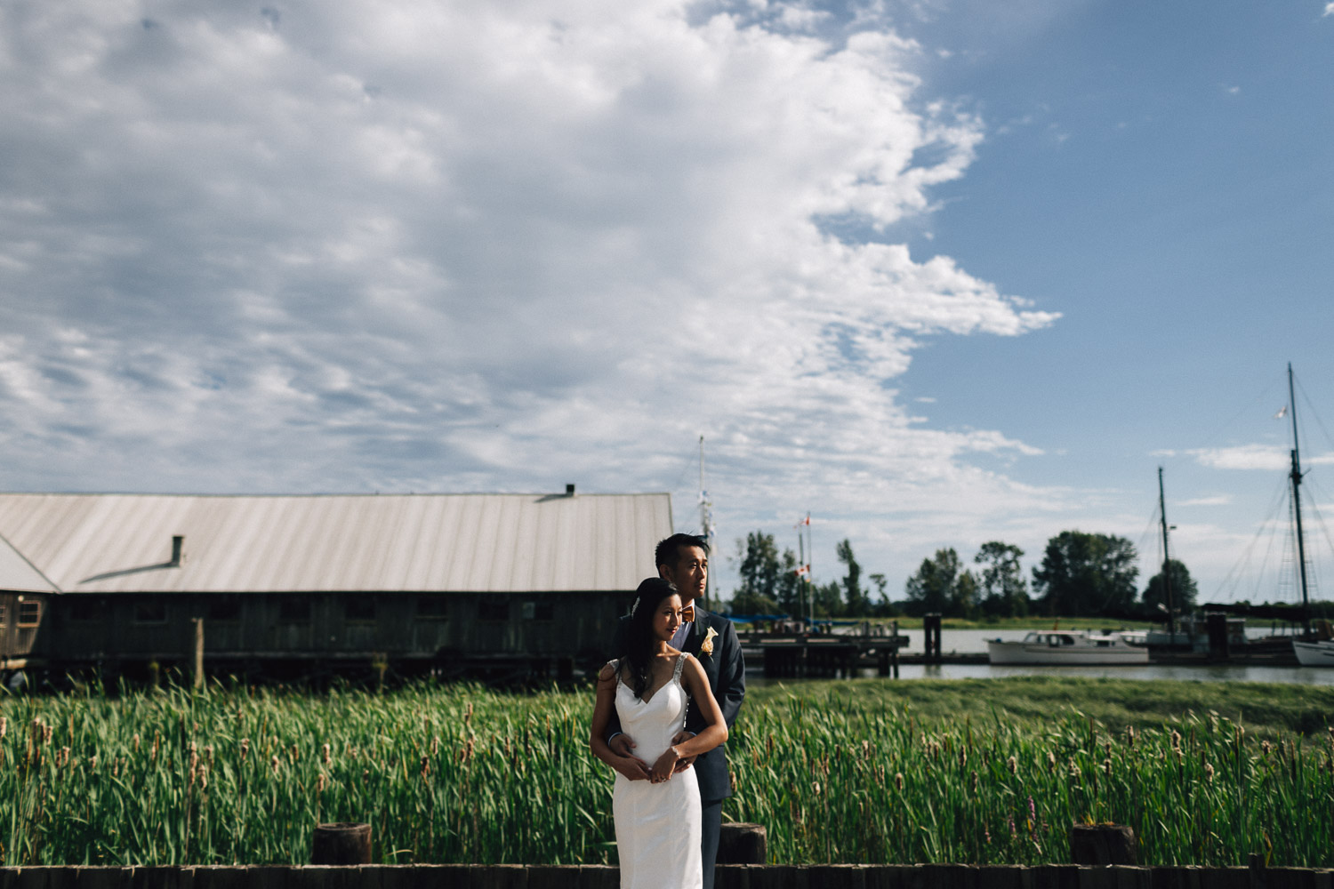 britannia shipywards richmond wedding photographer