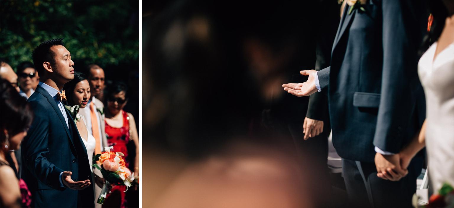 quilchena golf course wedding ceremony richmond photography