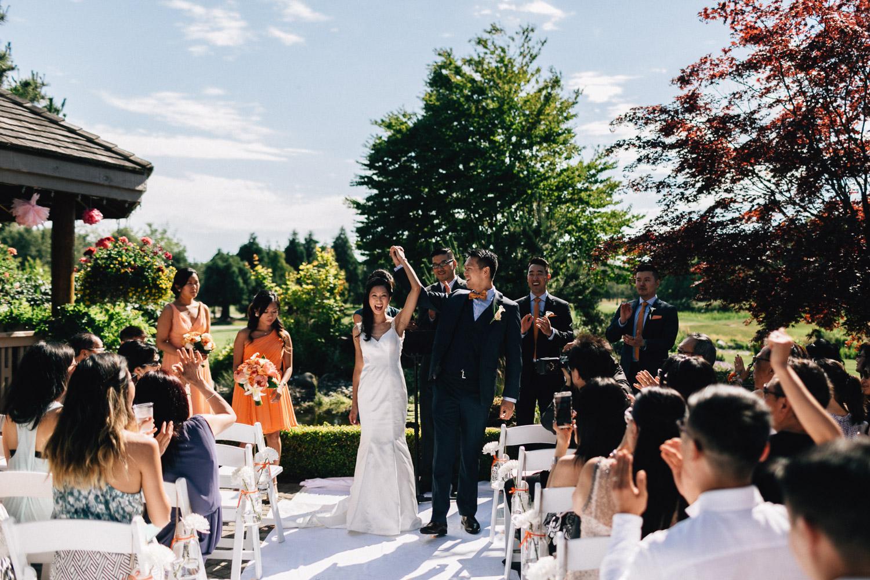 quilchena wedding photography richmond ceremony