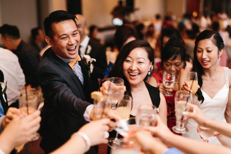 quilchena richmond wedding photography reception toast