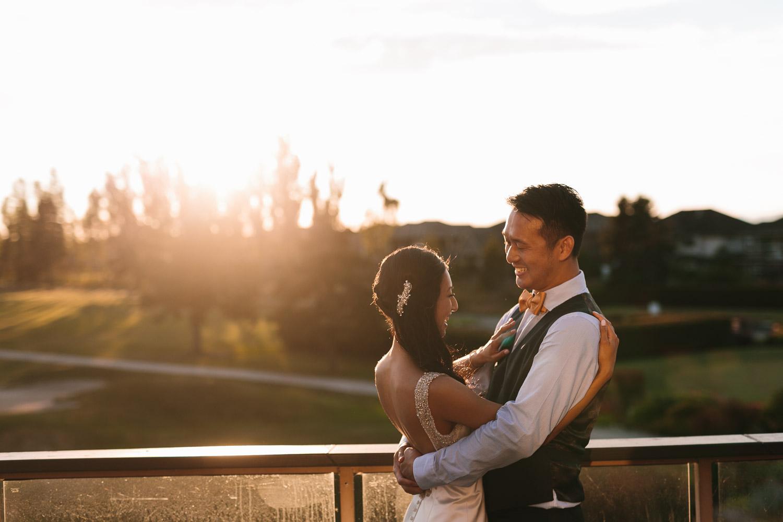quilchena richmond wedding photography reception sunset