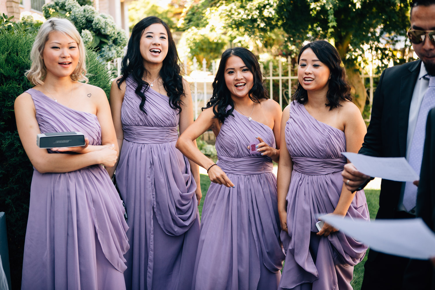 bridesmaids vancouver wedding photographer