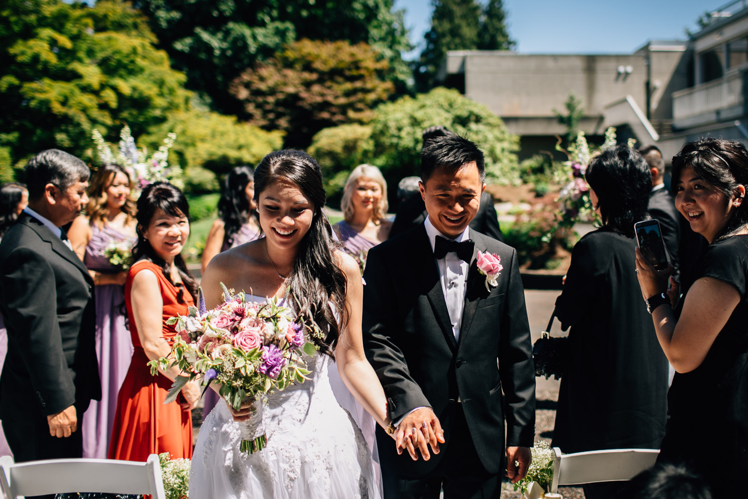 ubc sage bistro wedding ceremony