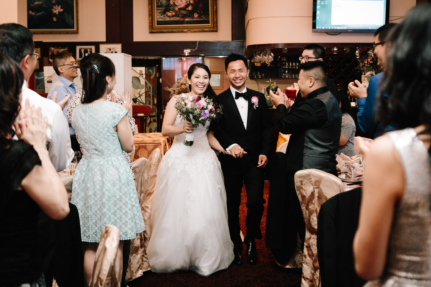 shiang garden restaurant wedding richmond photography reception