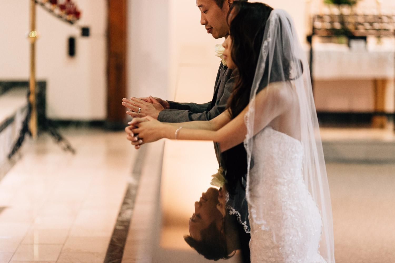 maple ridge wedding photographer catholic ceremony vietnamese