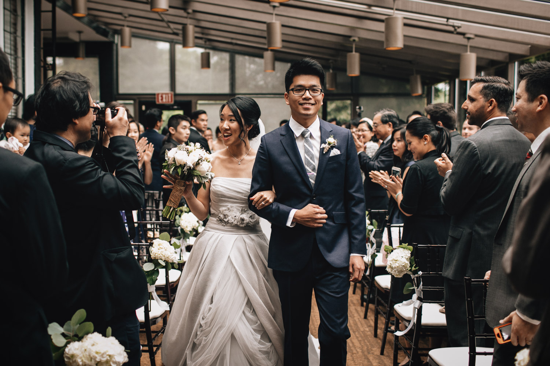 brockhouse restaurant wedding ceremony photography vancouver bc