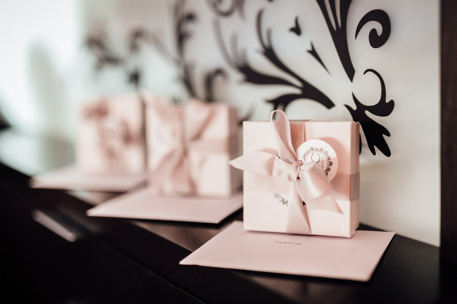 bridesmaid gifts opus hotel in yaletown vancouver bc wedding photography