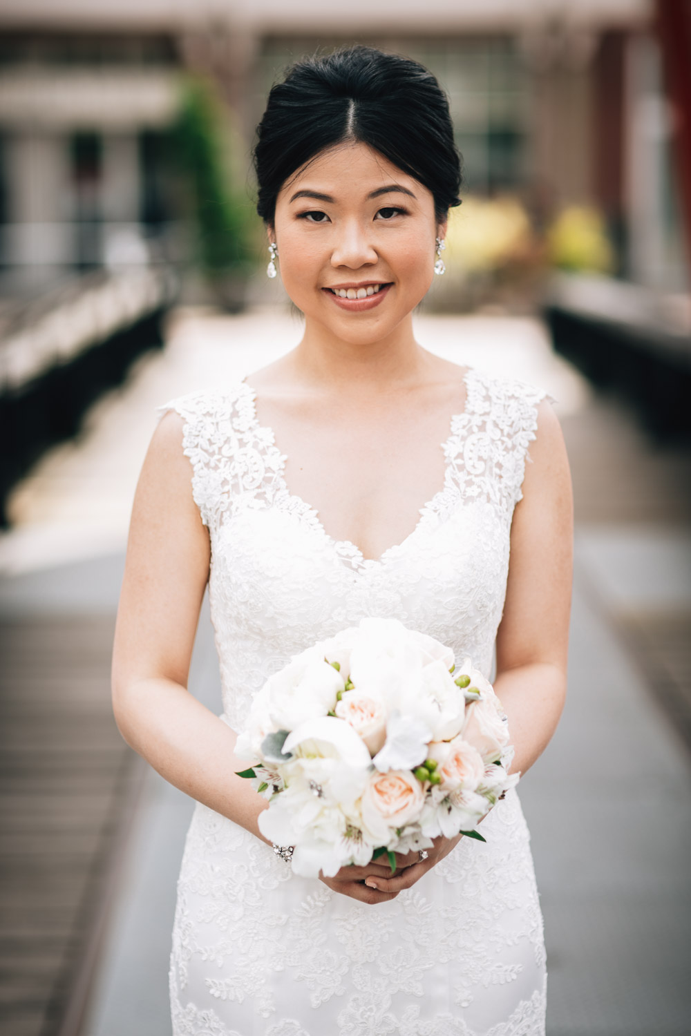 bride wedding portrait vancouver yaletown photography