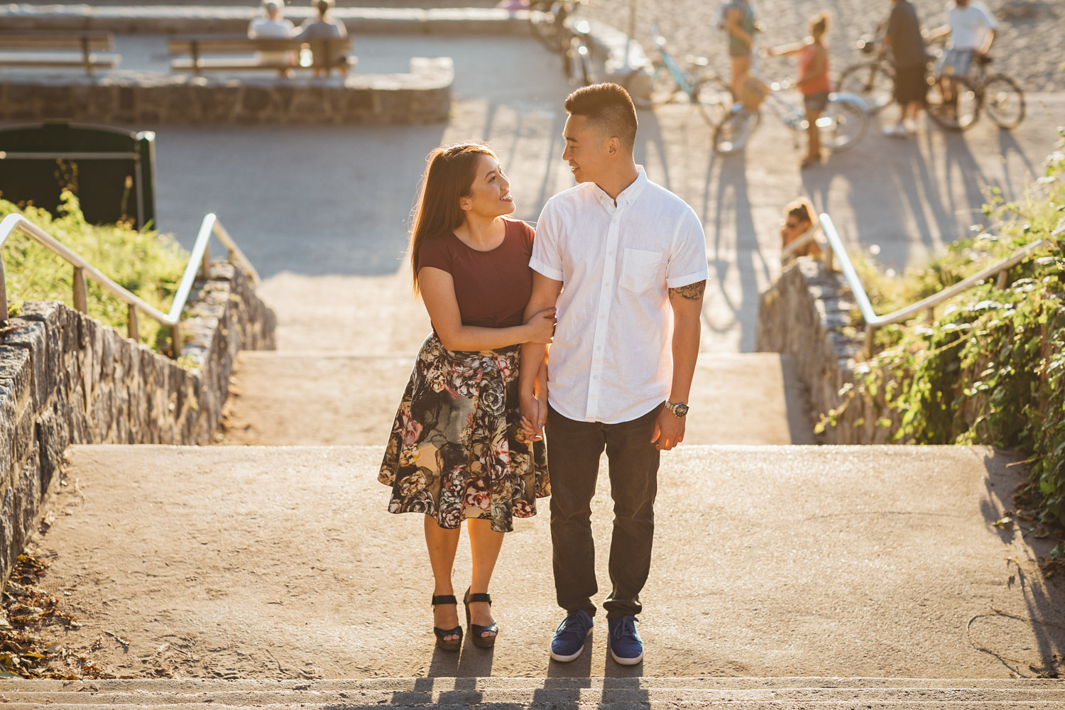 third beach engagement photography in vancouver bc
