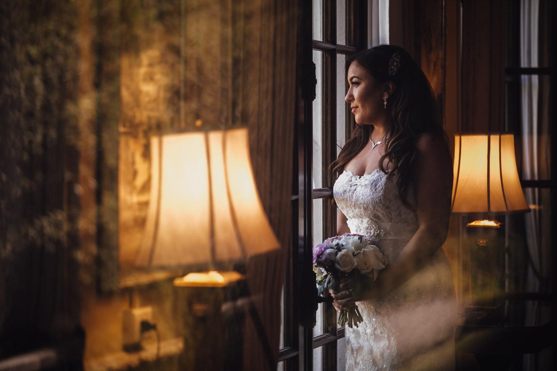 vancouver wedding photography at hycroft bride