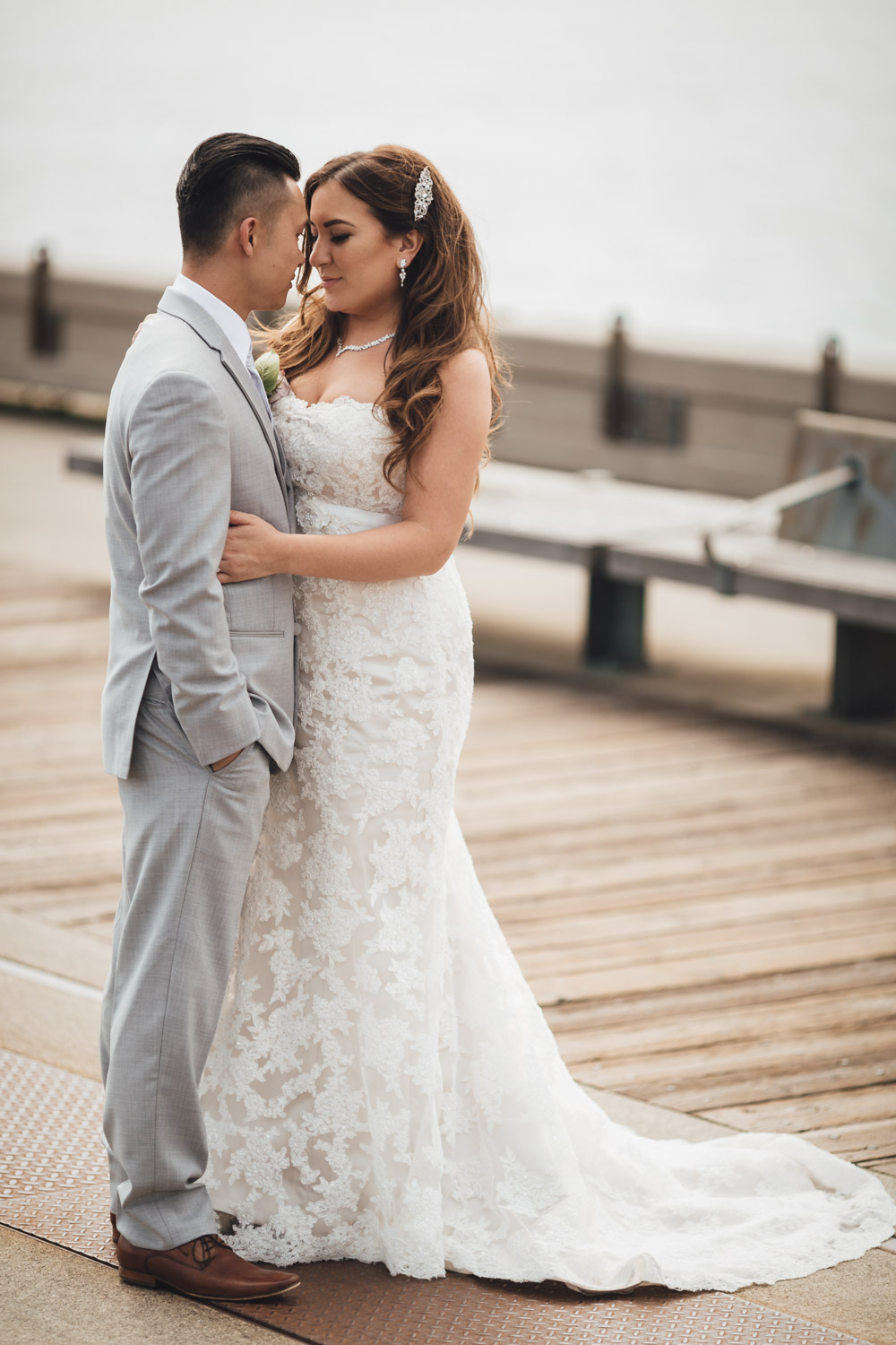 lonsdale quay wedding bride and groom photogaphy in North Vancouver, BC