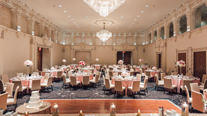 rosewood hotel georgia wedding ballroom decor vancouver bc