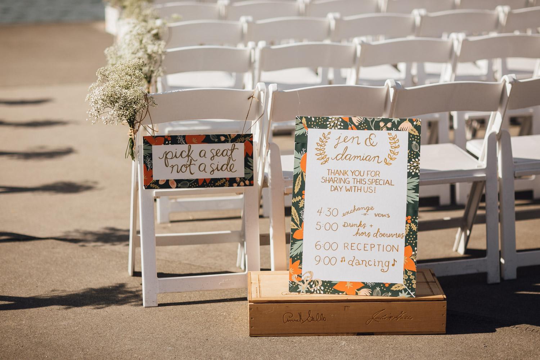 ubc boathouse wedding ceremony richmond bc