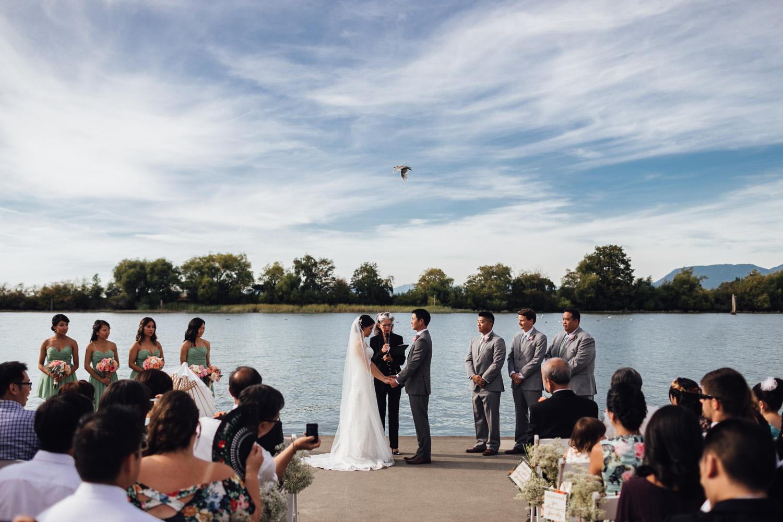 ubc boathouse wedding photography richmond bc outdoor summer