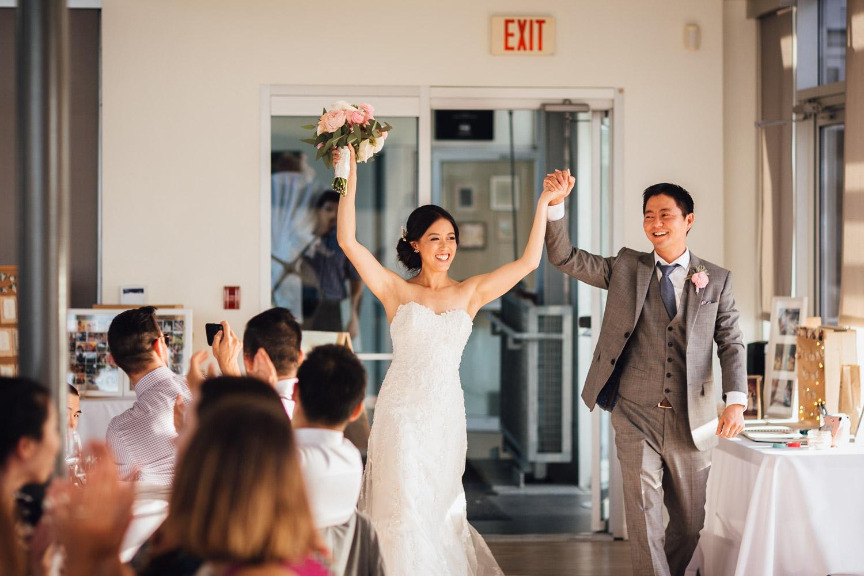 richmond wedding reception at ubc boathouse