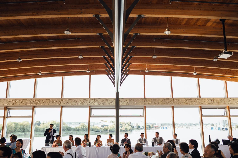 ubc boathouse reception wedding richmond bc