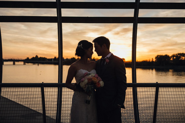 ubc boathouse wedding reception richmond bc photography sunset
