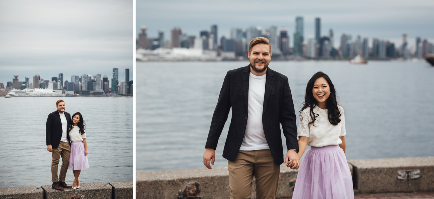waterfront park engagement photography vsco candid