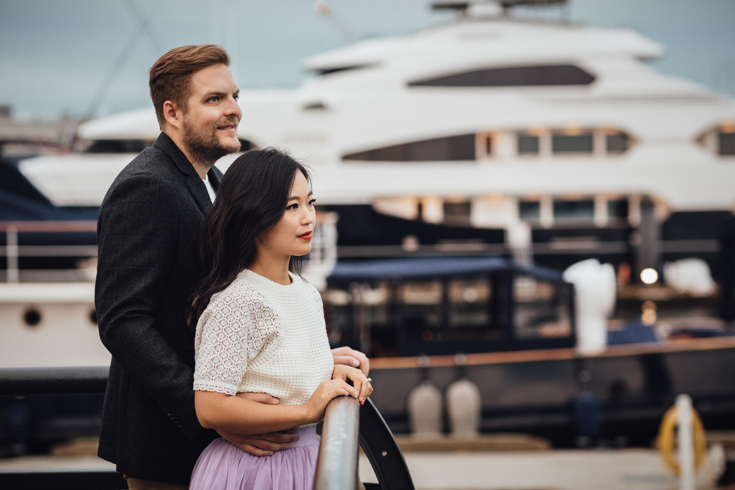 lonsdale quay engagement photography north vancouver bc