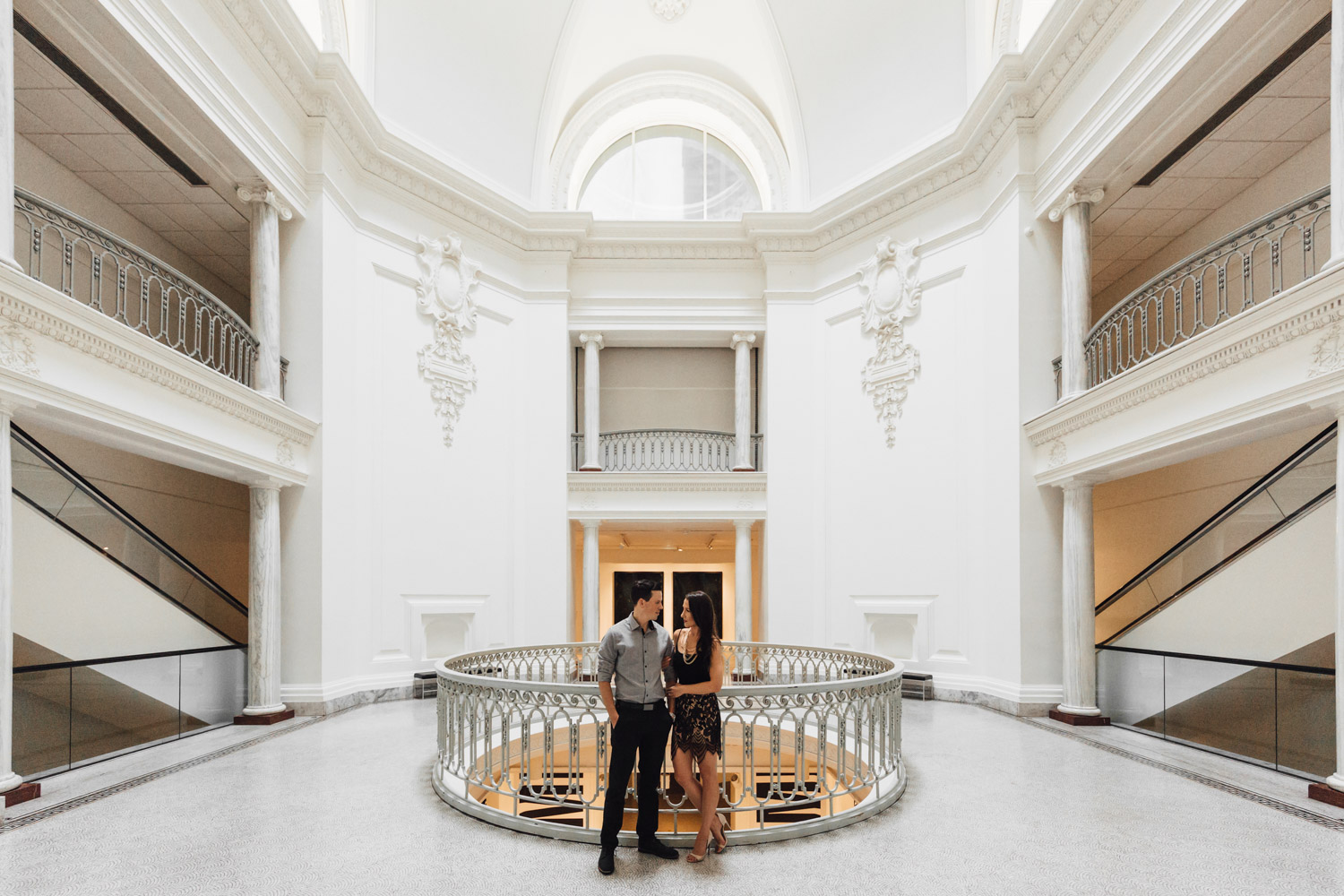 vancouver art gallery engagement photography bc