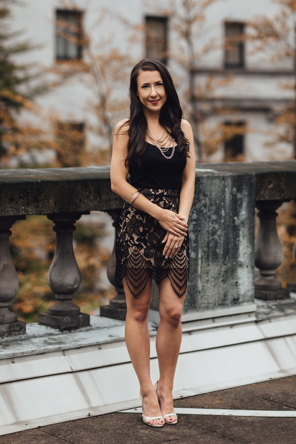 vancouver art gallery downtown engagement photography bc bride