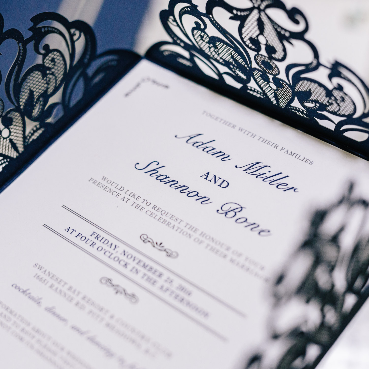 wedding stationary vancouver art gallery photography bc