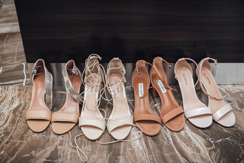 bridesmaids shoes burnaby wedding photography