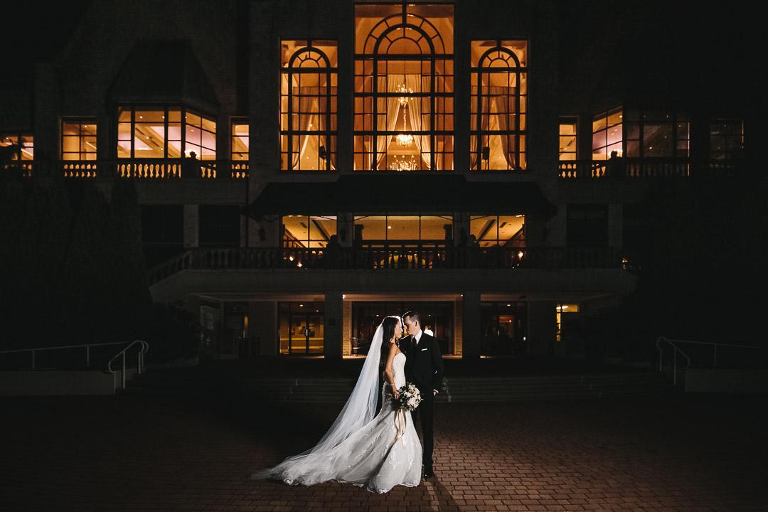 pitt meadows wedding night photography at swaneset