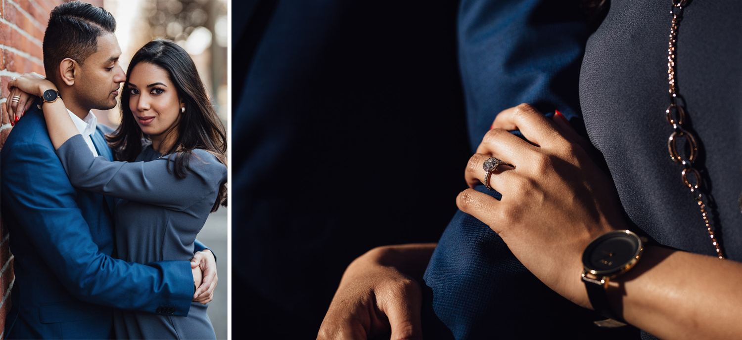 gastown engagement photography vancouver