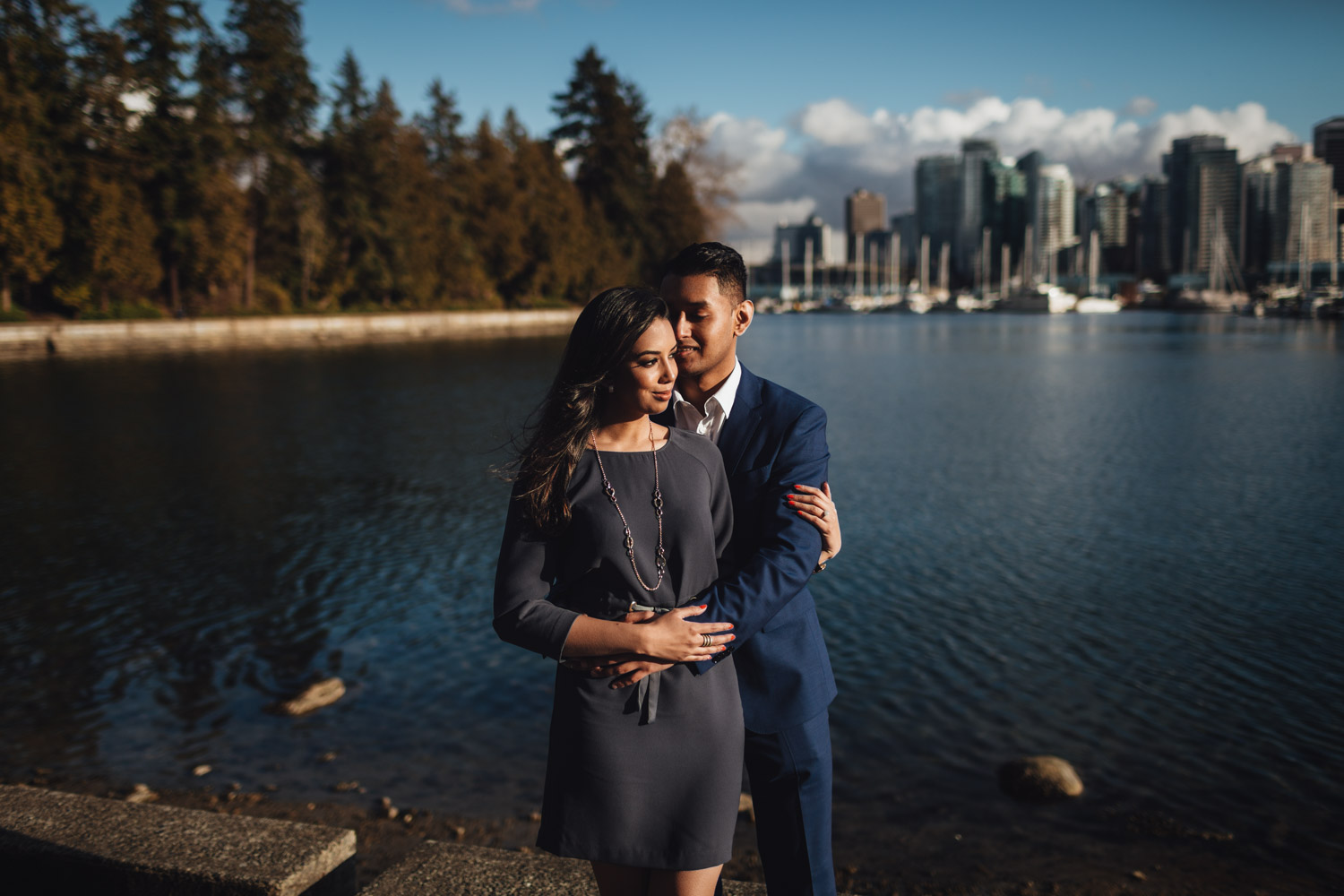 stanley park engagement photography in vancouver bc