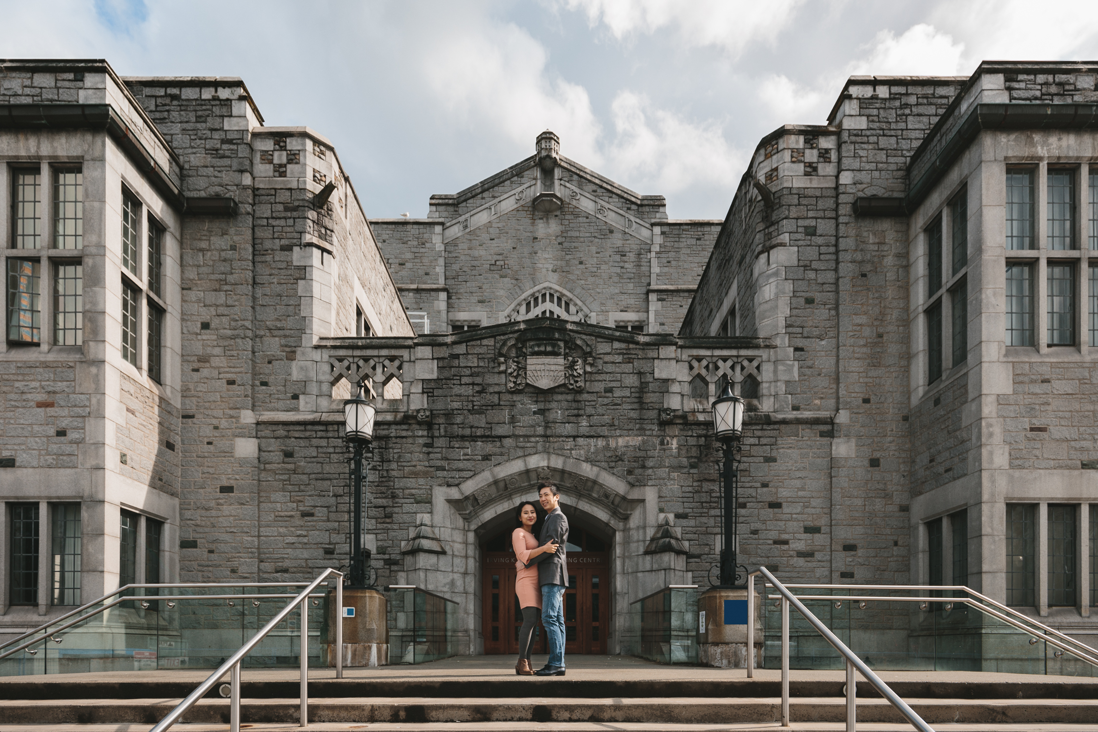 ubc engagement photography in vancouver bc