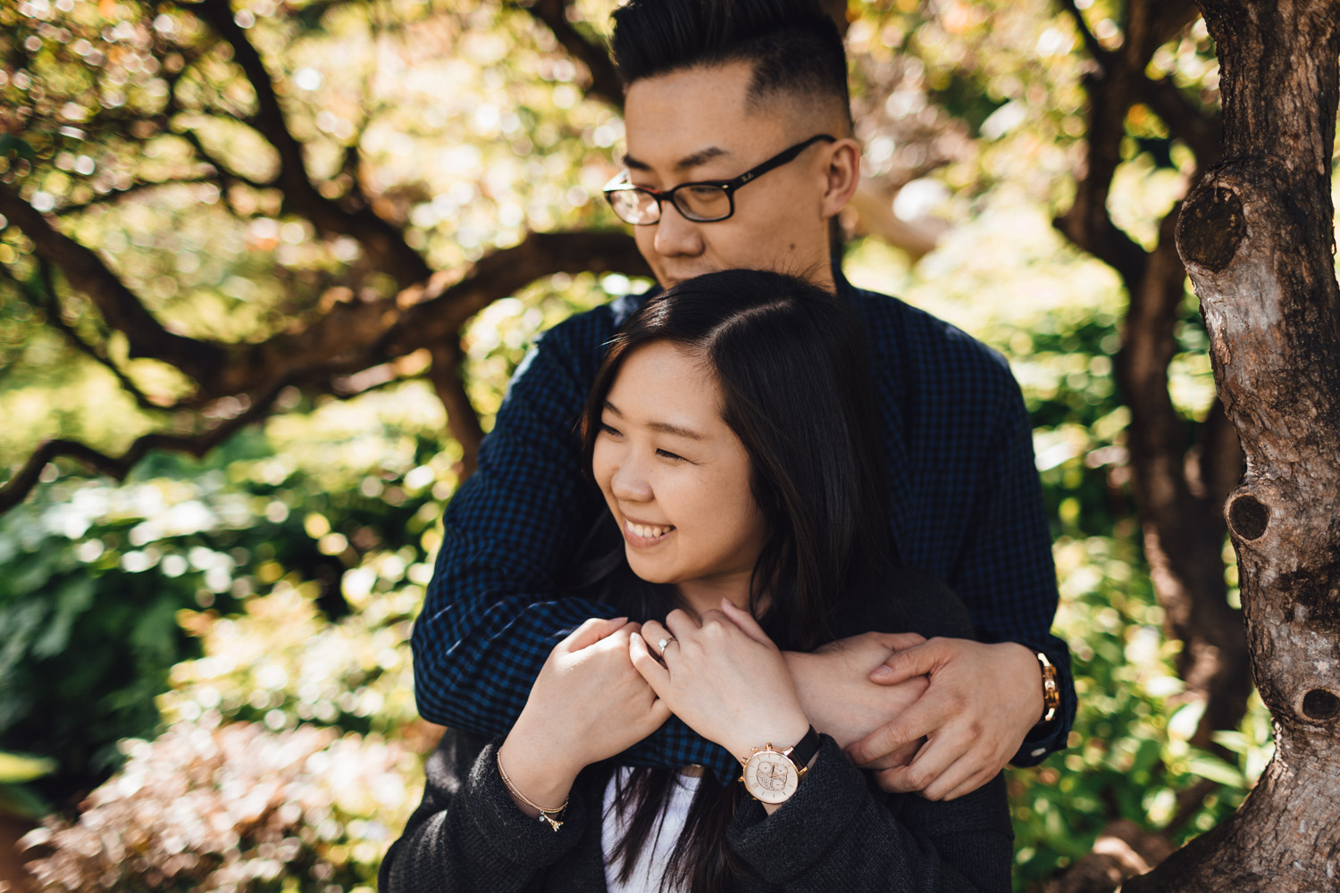 vancouver engagement photography in stanley park