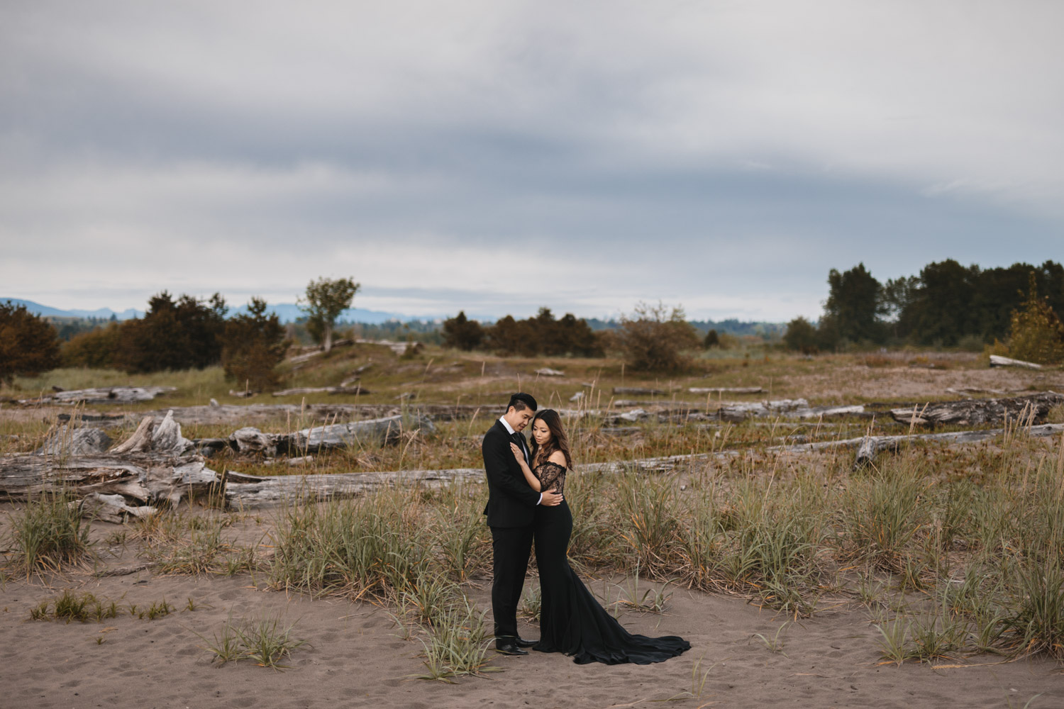 vince chan engagement photography at iona beach park