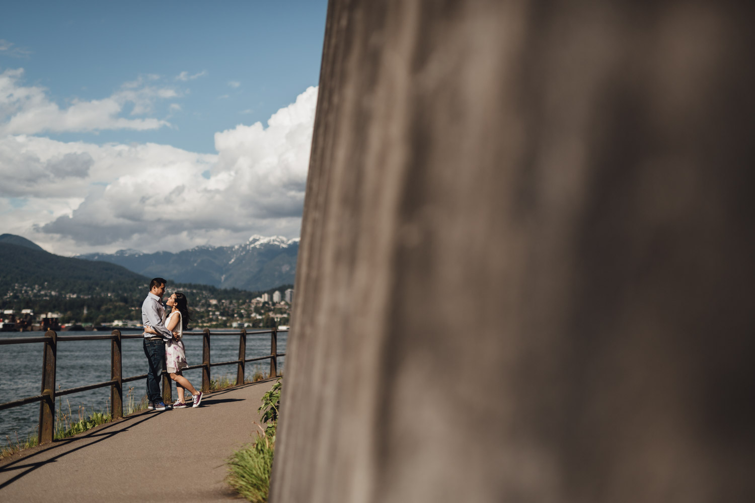 lighthouse stanley park engagement photography vancouver bc