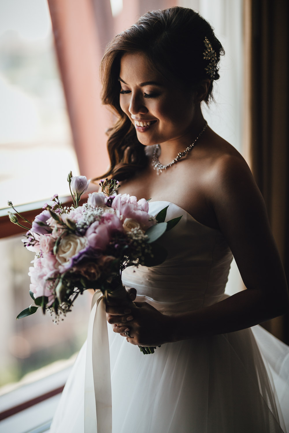 richmond wedding photography at river rock hotel marriage signing