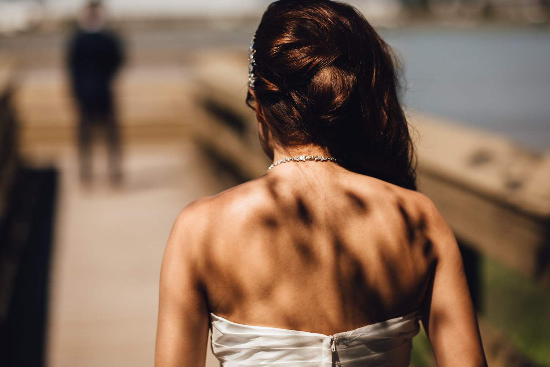 first look richmond wedding photography bc